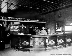 Fake Elwood's Saloon. (1890). Chico, CA.